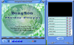 Phần mềm DongSon Media Player